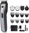 Corlitec 【日本代購】電動理髮器 防水5合1多功能 充電 交流式 全身 低噪音 - TXVTZ-BK