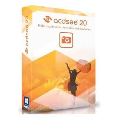 ACDSee Photo Manager 20 (繁體中文) - Windows - 下載版 含安裝備份光碟