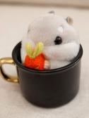 掛件倉鼠毛絨玩具倉鼠公仔倉鼠倉鼠掛件可愛迷你毛絨老鼠-『美人季』