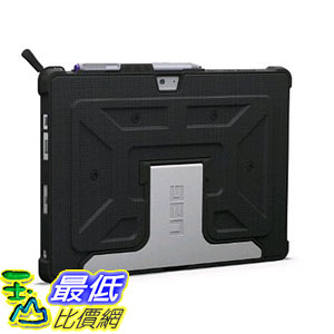 [美國直購] URBAN ARMOR GEAR Microsoft Surface 3 Composite Case, Black 保護殼