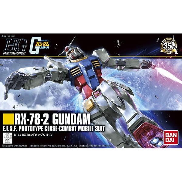鋼彈UC BANDAI 組裝模型 HGUC 1/144 RX-78-2 鋼彈 191