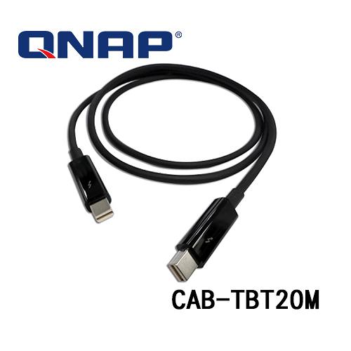 (訂貨要3-5工作天) QNAP 威聯通 CAB-TBT20M 2米 THUNDERBOLT 2 傳輸線