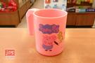 Peppa Pig 粉紅豬小妹 佩佩豬 PP牙刷杯 塗鴉 粉  PP51231b