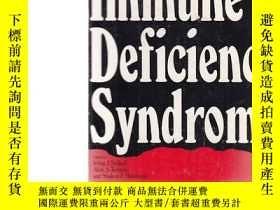 二手書博民逛書店acquired罕見immune deficiency synd