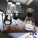 杯架置物架玻璃瀝水家用水杯掛架水杯架水杯收納杯架【古怪舍】