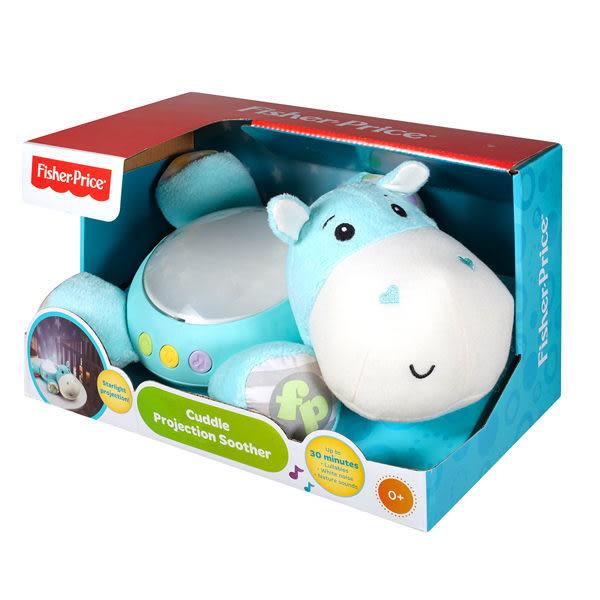 5月特價 Fisher-Price費雪嬰幼兒玩具 聲光投影安撫河馬 TOYeGO 玩具e哥
