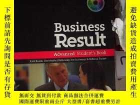 二手書博民逛書店Business罕見Result Advanced Student s Book 商業成果高級學生用書(741)附
