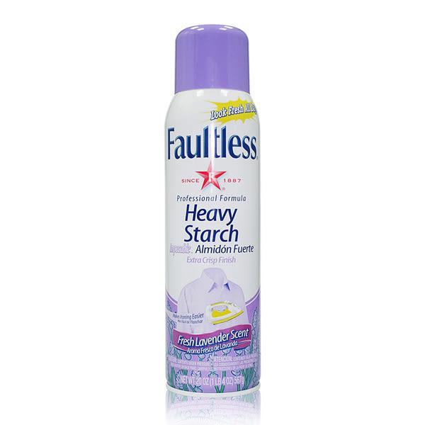 美國【Faultless】強效噴衣漿-薰衣草香20oz/567g