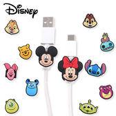 Disney 迪士尼 經典人物USB線造型套組(1組2入) 多款可選【小三美日】