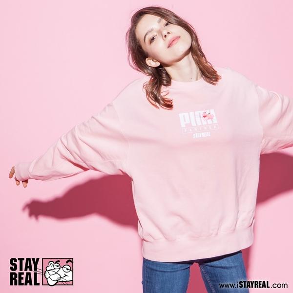 STAYREAL x Pink Panther 我是粉紅豹厚棉T