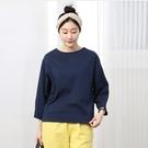 正韓 簡約圓領八分袖T恤 (8704) 預購