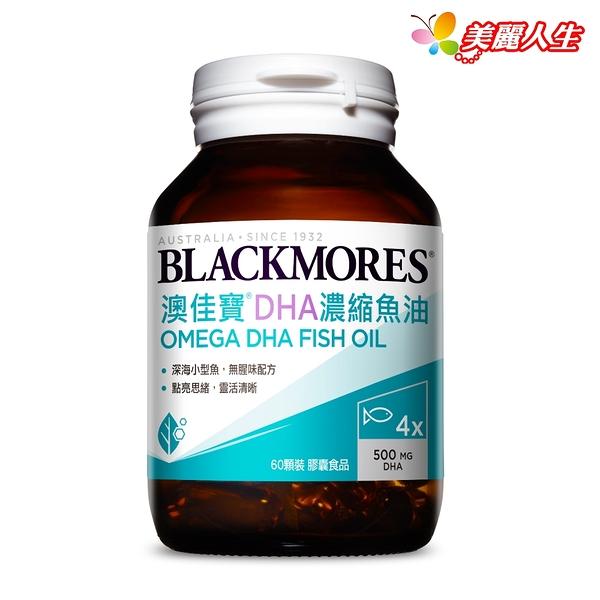 BLACKMORES澳佳寶 DHA精粹濃縮深海魚油 60顆/罐 (效期2024.6.23)