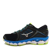 Mizuno Wave Sky [J1GC170205] 男鞋 運動 慢跑 路跑 休閒 舒適 避震 彈性 美津濃 黑藍