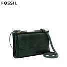 FOSSIL SAGE 鱷魚皮壓紋手拿斜背兩用包 SLG1322366