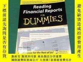 二手書博民逛書店Reading罕見Financial Reports For D