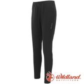 【wildland 荒野】中性 遠紅外線九分褲『黑色』W2658 戶外 休閒 運動褲 冬季 保暖 禦寒 內著