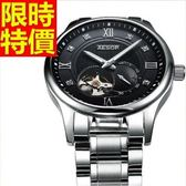 機械錶-陀飛輪鏤空流行熱銷男腕錶4色54t18【時尚巴黎】