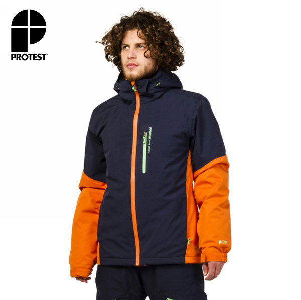 PROTEST 男 機能防水保暖外套 (椒澄色) SHOCKING SNOWJACKET