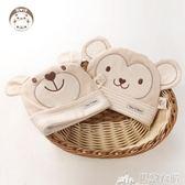 嬰兒帽    嬰兒帽子0-3-6個月秋冬季新生兒胎帽純棉套頭帽春秋男女寶寶帽子 巴黎衣櫃