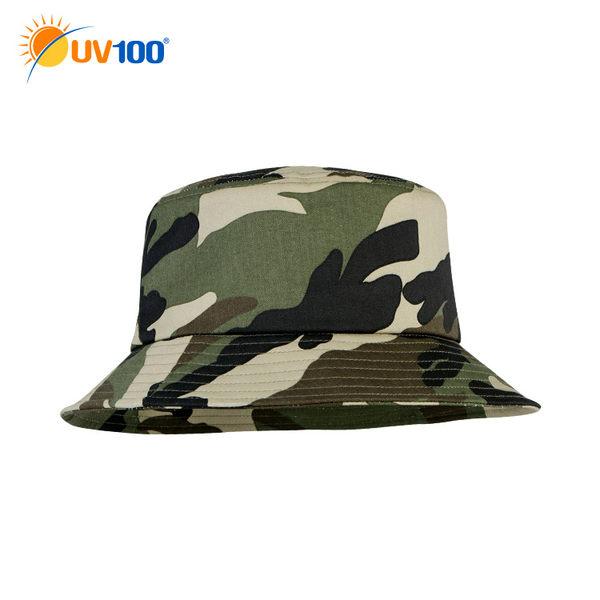 UV100 防曬 抗UV-透氣造型遮陽漁夫帽-帽圍可調