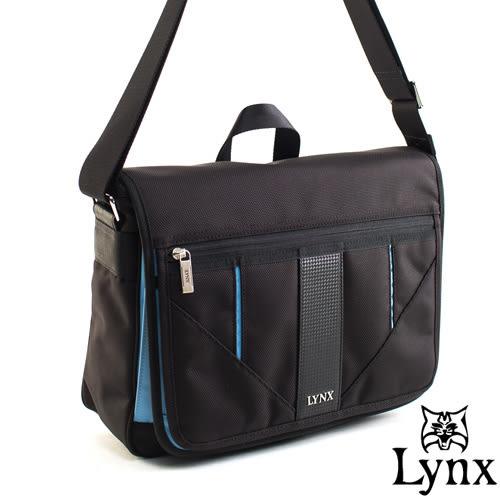 Lynx - 山貓科技概念系列側背式書包-牛津藍