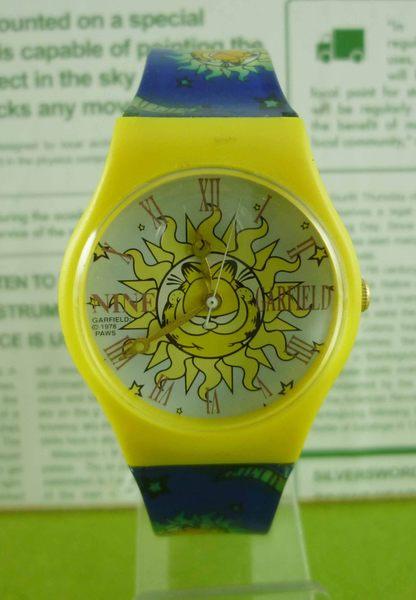【震撼精品百貨】加菲貓~手錶~太陽【共1款】