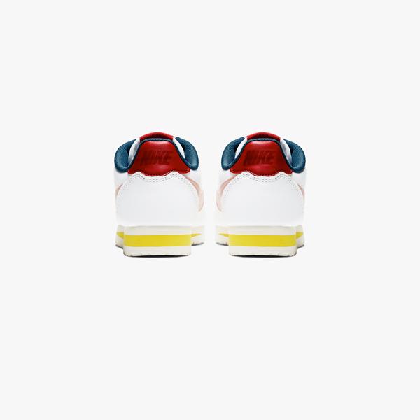 IMPACT Nike Classic Cortez Premium 阿甘 復古 白 湖水綠 橘 807471-114