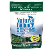 【寵物王國】Natural Balance-NB低敏羊肉糙米全犬配方28磅【中大型犬】