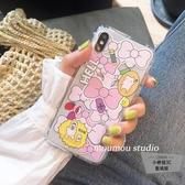 甜心粉色蝴蝶結iphone6/7/8/plus/x/xs/xr/max手機殼軟【小檸檬3C】