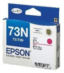 [哈GAME族]EPSON T105350 / 73N 原廠盒裝 紅色墨水T20/T30/T40W/TX200/TX100