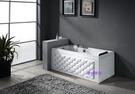 【麗室衛浴】BATHTUB WORLD  菱格時尚造形缸  YG3399M   160*70*58CM