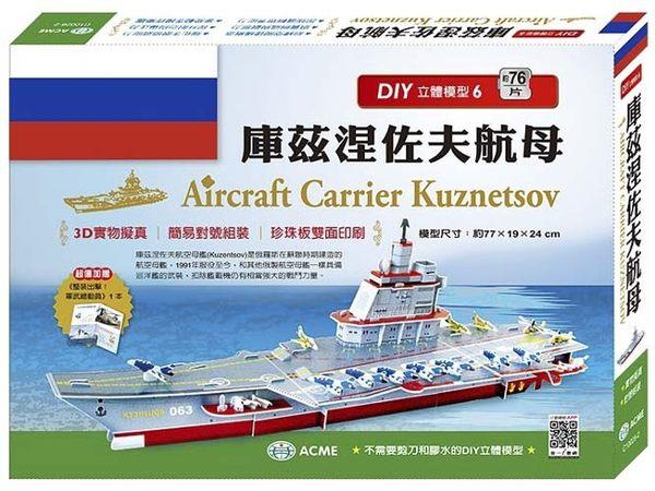 DIY立體模型:庫茲涅佐夫航母【模型】