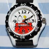 SNOOPY史努比 CITIZEN 星辰錶 氣壓防水指針式手錶 日本限定 附精美禮盒
