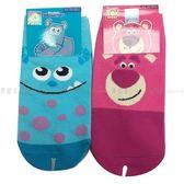 【KP】玩具總動員襪子 怪獸大學 直版襪中 15~22cm 迪士尼 兩款 正版授權 DTT0522045