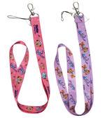 【卡漫城】 達菲熊 識別證 掛繩 粉紫 二入一組 Duffy 小熊 手機  證件套 寬版 鑰匙 雪莉玫 迪士尼