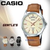 CASIO 卡西歐 手錶專賣店 MTP-1381L-9A VDF 男錶 指針錶 黑面 礦物玻璃鏡面 真皮錶帶