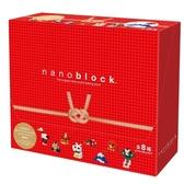 【日本 Kawada 河田】Nanoblock 迷你積木 迷你日本緣起物 (八款合售)
