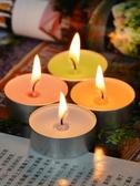 圓形薰衣草香薰蠟燭浪漫香氛心形生日抖音家用小焟燭香味熏香臘燭