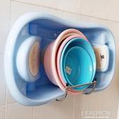 衛生間置物架免打孔浴室不銹鋼臉盆架壁掛臉盆收納架掛牆式盆架子·Ifashion