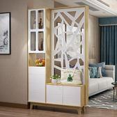 玄關櫃 北歐烤漆間廳門廳櫃酒櫃玄關櫃客廳現代簡約隔斷裝飾屏風水櫃鞋櫃