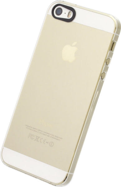 【漢博商城】POWER SUPPORT iPhone SE/5/5S 專用 Air Jacket 透明殼:耐刮 極輕薄 美觀實用