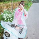 雨衣 點點透明成人雨衣/摩托車雨衣【EL4435-2】 icoca  10/06