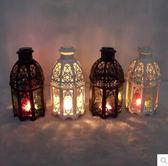 歐式地中海風情風燈古堡鐵藝燭臺Eb1428『M&G大尺碼』