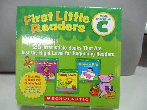【書寶二手書T1/字典_ARG】First Little Readers Guided Reading Level C Student Pack..