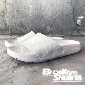 AIR WALK 全白  拖鞋 橡膠  男女 情侶鞋  (布魯克林) 2018/7月 A511220-203