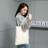 托特包 大包包女韓國簡約時尚手提包潮女包百搭單肩包托特包 交換禮物