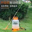 充電式小型噴霧器 澆花農藥防疫84消毒液家用新式高壓噴壺 打藥桶 小艾時尚NMS