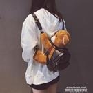 玩偶包 包包2021新款潮可愛後背包女毛絨小熊背包冬季動物玩偶學院風書包 萊俐亞