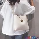 子母包 大容量水桶包包女2021新款高級感洋氣子母側背包百搭斜背大包寶貝計畫 上新