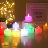 [拉拉百貨] LED 電子蠟燭燈 求婚 告白神器 氣氛燈 浪漫 無煙蠟燭燈 小夜燈